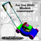 Modern Lawnmower Quick-fill Templates