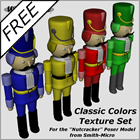 Classic Colors for Poser Nutcracker