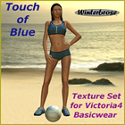 Touch of Blue for V4 Basic Wear