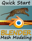 The intent of this tutorial (when completed) will be to provide a quick (speedy) intro to the basic features of Blender so that you can effectively use the Quick Start guide located in the tutorial and below to assist you when modeling your own 3D creations. In the meantime, you can download and use the following versions of the QRG for free.