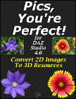 Pics, You're Perfect! for DAZ Studio 4