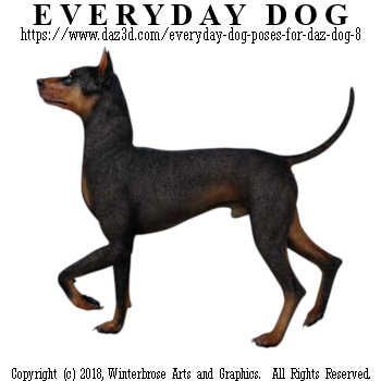 PRANCING Dog from Everyday Dog Poses