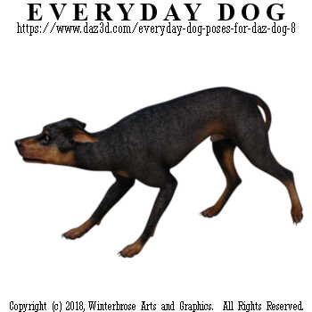 RETREATING Dog from Everyday Dog Poses