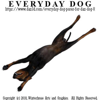 ROLL and STRETCH Dog from Everyday Dog Poses