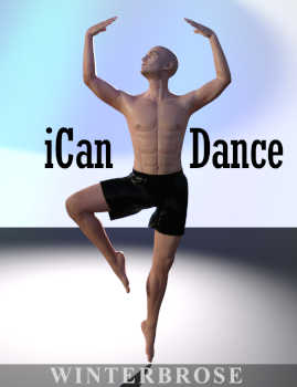 "iCan DANCE Dancing Poses for Genesis 8 Male. This set consists of 30 full body poses representing a variety of dance/rocker moves for Genesis 8 Male (also available for Toon Dwayne 8).  Everything from Ballet to Rock and Roll! You are bound to find something useful in this set.  The Genesis 8 Male says, ""Let's party and let's dance!  Let me show off my air guitar skills.  There isn't anyone cooler than I am on the dance floor."""