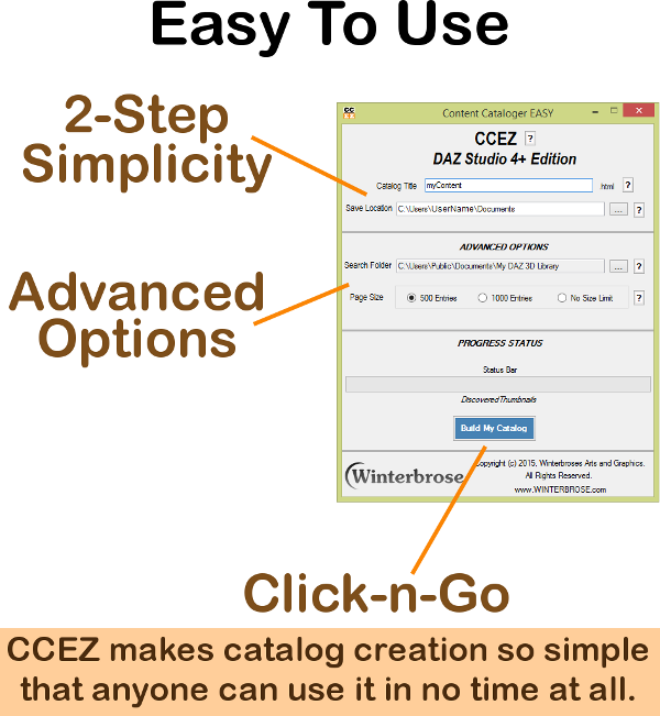 CCEZ the fastest way to catalog your installed content for DAZ Studio 4