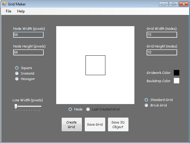 Grid-Maker Screenshot