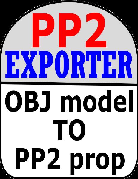 PP2 Exporter 2 1a, Convert OBJ models into Poser Props