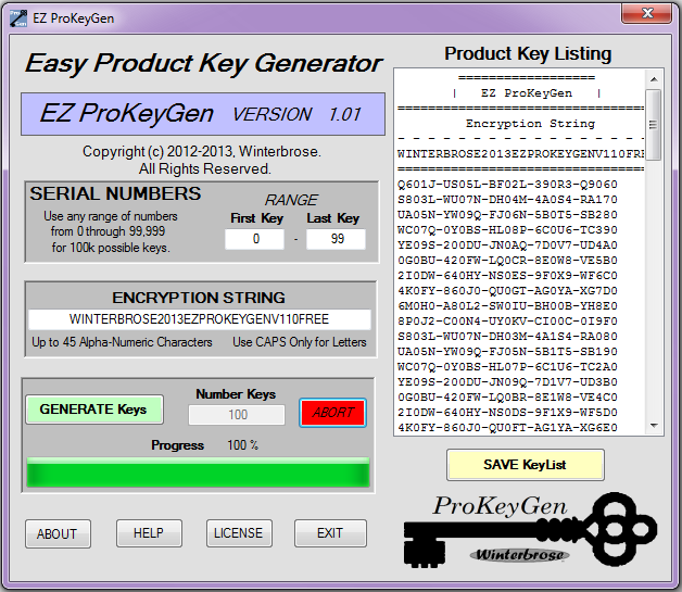 all software product key generator