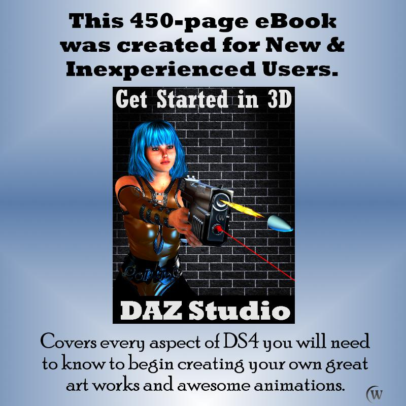 Covers every aspecty of DS4 you will need to know to being creating your own great digital artwork and awesome animations.