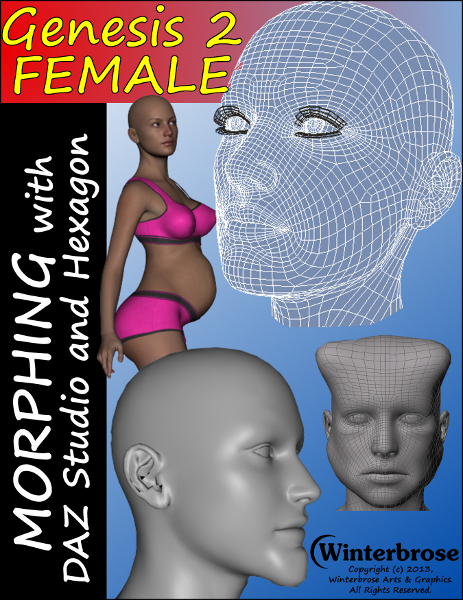 Morphing Genesis Figure with Daz Studio and Hexagon